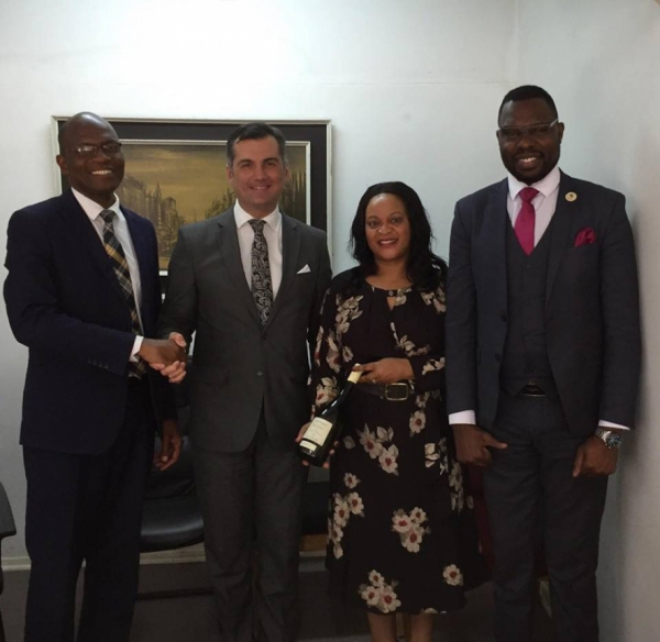 ZNCC Meeting with Georgia Ambassador